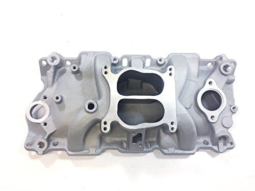 Aluminum Dual Plane Manifold for Small Block Chevy (302/327/350 Engines) - Dual Intake Manifold