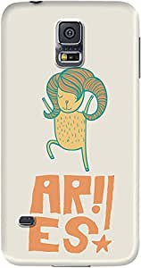 DailyObjects Aries Case For Samsung Galaxy S5 (Back Cover)