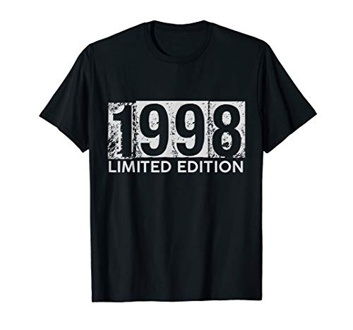 - 1998 Limited Edition 21st Happy Birthday Celebration T-Shirt