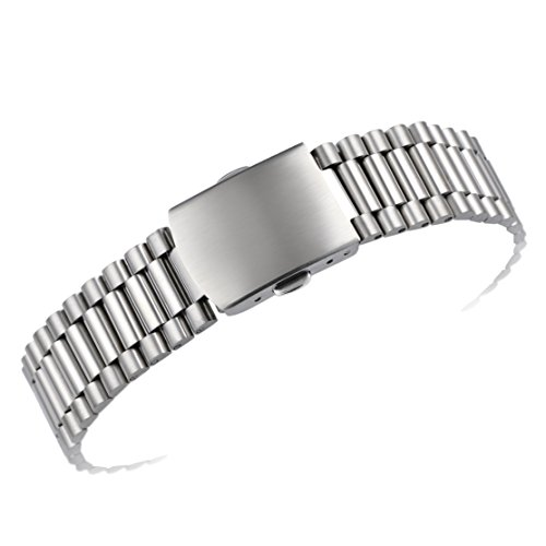 16mm Premium Inox Wristwatch Bands for Women's Deluxe Watches 316L Solid Stainless Steel Metal -  AUTULET, OT.TY1.16SL.ZD