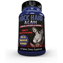 RH Again #1 Sex PILL for STRONGER, HARDER, LONGER LIBIDO & POWERFUL SEX, Sexual Performance Libido Sex, Boost Testosterone Levels, Male Sex Enhancement Dietary Supplement
