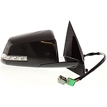 Kool Vue Power Mirror For 2007-2008 GMC Acadia 2007 Saturn Outlook RH Heated W/Signal Light ST21ER-S Body & Trim