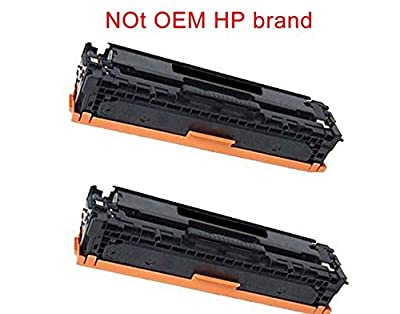 2 black Photosharp compatible laserjet Pro MFP M477 series replacement ink toner cartridge for HP 410X (CF410X) laser-jet M477fnw all-in-one color Printer,Copier, Scanner, Fax machine