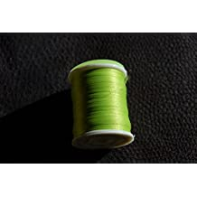 Fly Tying Large Spool Thread, Un Waxed Flou Green Colour, Fly Dressing