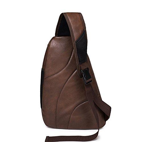 Anne - Bolso de hombro Hombre marrón