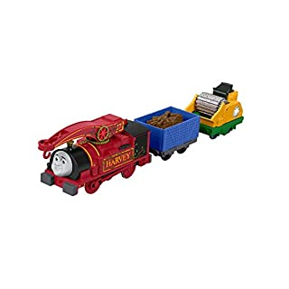 Thomas & Friends TrackMaster Helpful Harvey Toy Train