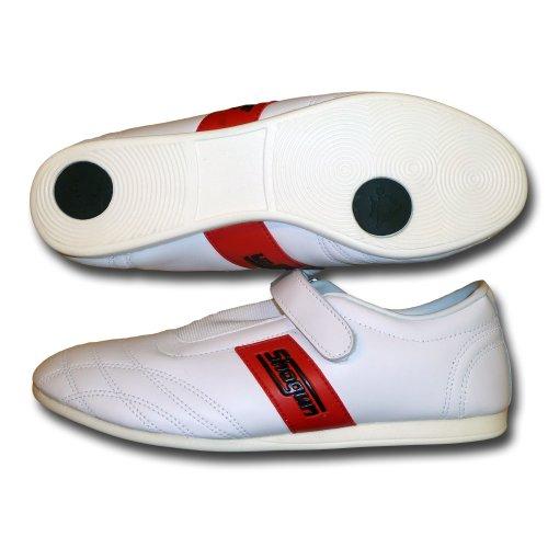 soft leather taekwondo shoes White shoes Shogun martial arts ApdEqnw5