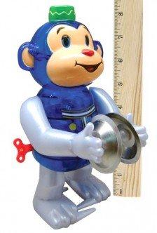 Carlton Large Monkey Cymbals Wind Up-Sock Monkeys ()