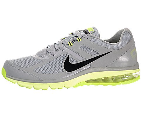Nike Men's Air Defy Rn Silver/Black/Volt Running Shoe 8.5 Men US