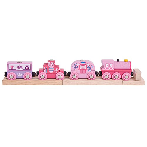 Bigjigs Rail Wooden Princess Train - Other Major Rail Brands are -