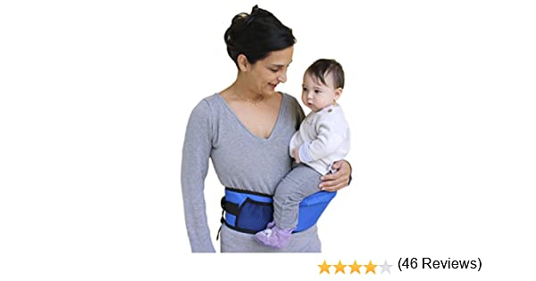 Purple Pomfitis Side Ride Baby Toddler Kid Child Hip Seat Carrier 1 Pack
