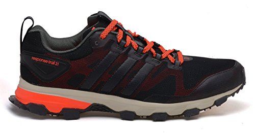 Adidas Homme Trail Red Chaussures Black Course Green De Solar Response 21 Base rYT5rw