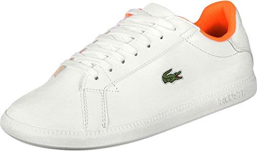 Graduate Scarpa Arancione 1 Bianco W Lacoste Sport 118 4qwnAxScU8