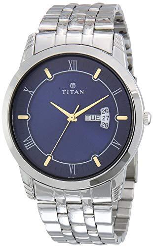 Titan Karishma Analog Blue Dial Men's Watch NM1774SM01/NN1774SM01