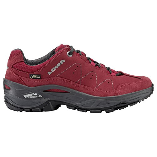 LOWA Toro II GTX Lo Ws Ladies Walking Shoes Black 320877 9953 red iJJGE