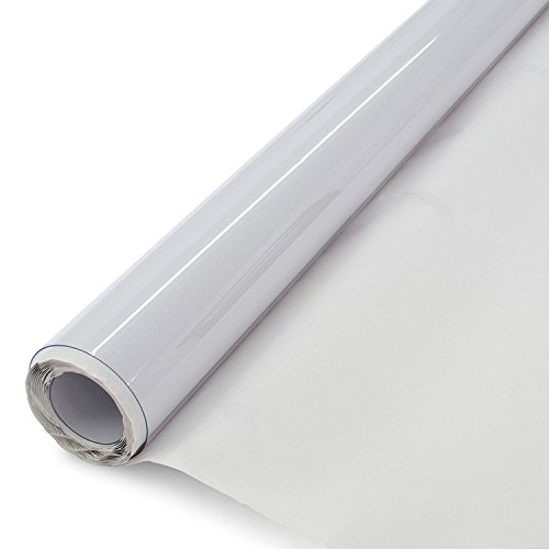 LA Linen 4-Gauge of 54-Inch Wide  Vinyl, 10 Yard Roll (Linen Roll)