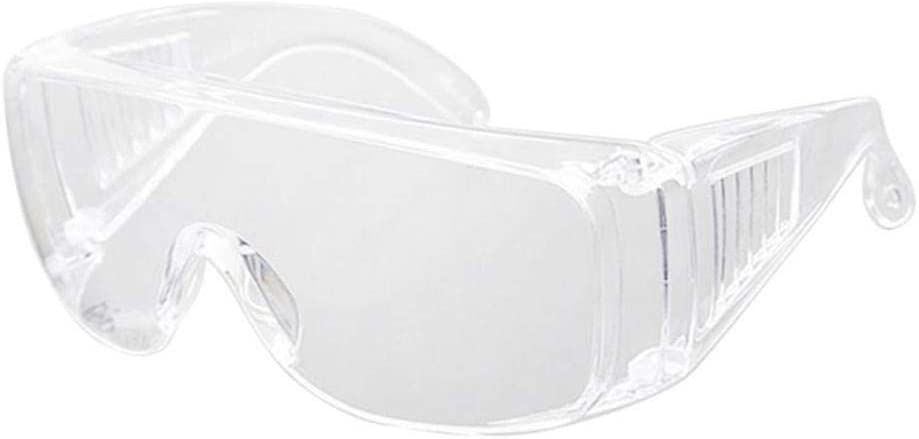 Gafas De Seguridad para Pc Protección para Los Ojos Gafas Antipolvo Y Antigolpes Protección Ocular Transparente Gafas De Sol para Deportes Al Aire Libre-5 Piezas