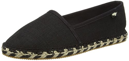 Basse Rocket black Temple Black valencia Espadrillas Donna Nero Dog PUw1UqOxt