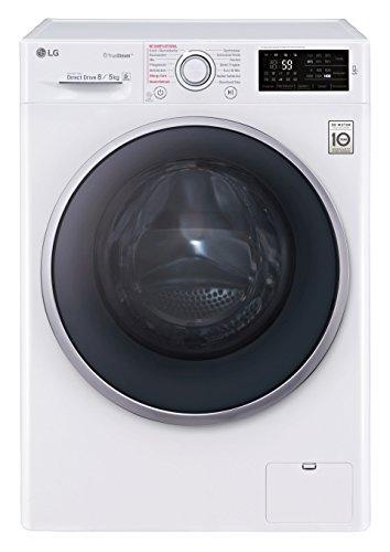 LG Electronics F 14U2 TDH1NH Waschtrockner 1088 kWh / 8 kg Waschen / 5 kg Trocknen / Aqua Lock / Smart Diagnosis / weiß