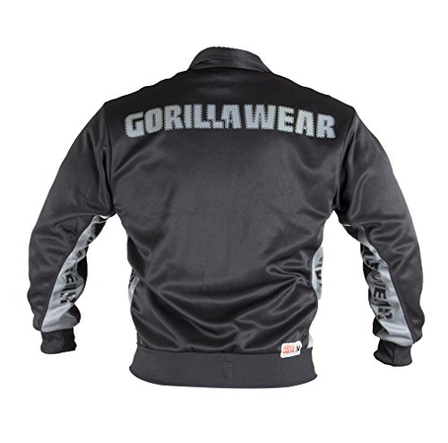 Gorilla Wear Track Jacket Black/Yellow