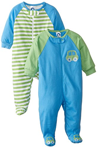 gerber-baby-boys-2-pack-zip-front-sleep-n-play-cars-0-3-months
