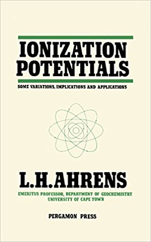 Ionization Potentials. Some Variations, Implications and Applications