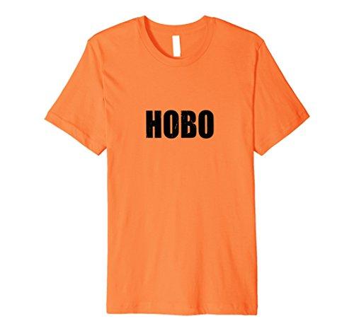 Mens Hobo Halloween Costume Party Cute & Funny T shirt XL (Halloween Hobo Costume)