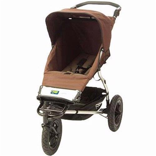 urban single jogging stroller dot