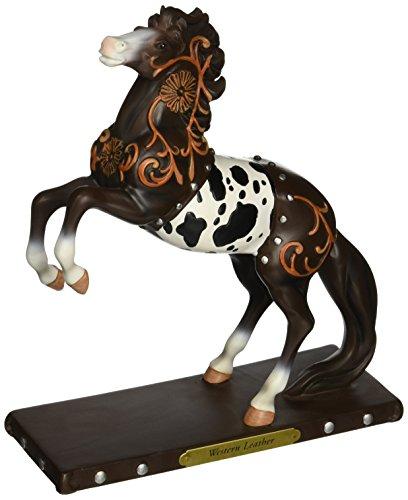 Enesco Painted Western Leather Figurine