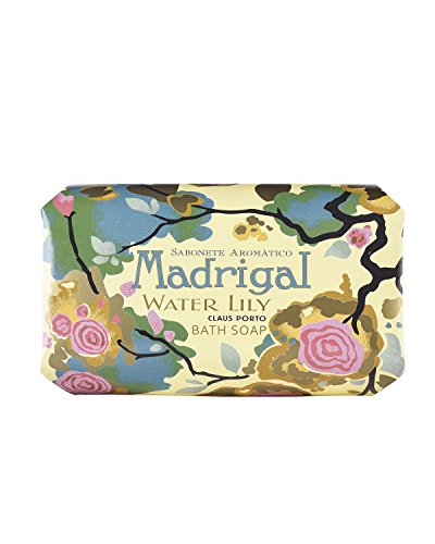 Claus Porto Madrigal Water Lily Soap For Unisex  12 4 Ounce