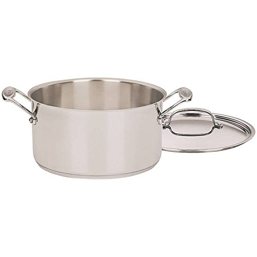 Cuisinart Chef's Classic Stainless 6-Qt. Covered Stockpot