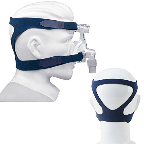 (Enshey Universal Headgear Full Mask Replacement Part CPAP Ventilator Headband Comfort Gel Breath Machine Head Band Lightweight and Aseptic for Respironics Resmed Resmart Without Mask)