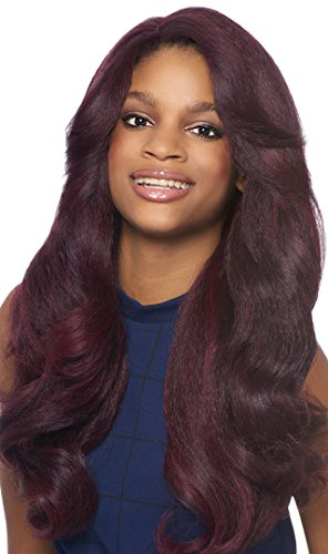 Outre Synthetic Hair Lace Front Wig Batik Dominican Blow Out Relaxed Bundle Hair