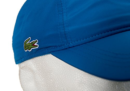 afecfa16fc1 Lacoste RK1402 Baseball Cap FY8 Laser Blue ALL Blue  Amazon.co.uk  Clothing