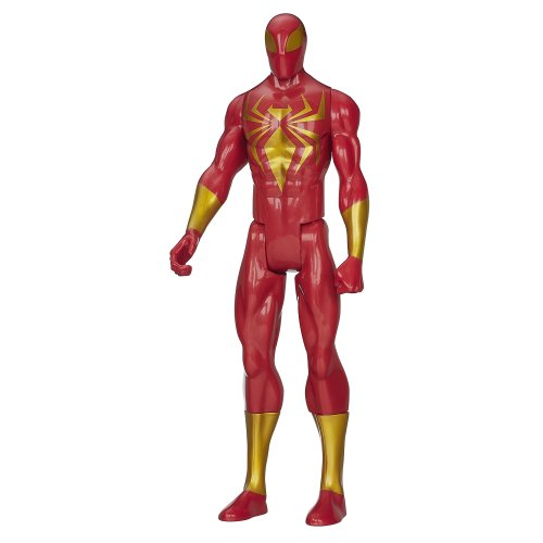 Marvel Ultimate Spider Man Titan Hero Series Iron Spider Figure   12 Inch