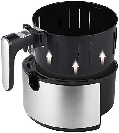 Pkfinrd Air Fryer, 4.3 QT électrique Hot Air friteuses Four Oilless Cuisinière, 8 préréglages, Préchauffez & Shake Rappel, LCD écran Tactile numérique, Antiadhésif Panier, 1500W.