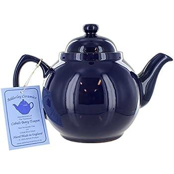 Cobalt Betty Teapot - 8 Cup