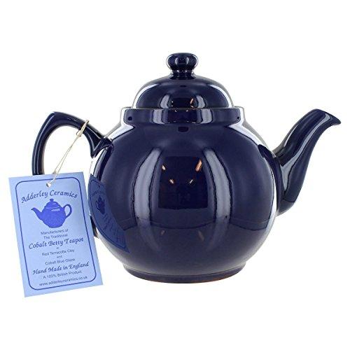Cobalt Betty Teapot - 4 Cup
