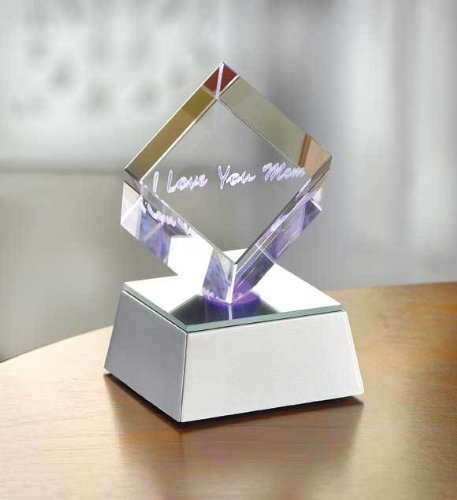 Mom Lighted Cube - I Love You, Mom Lighted Cube