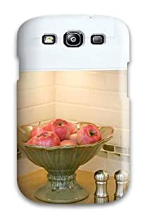 High-quality Durable Protection Case For Galaxy S3(subway And Glass Tile Kitchen Backsplash)