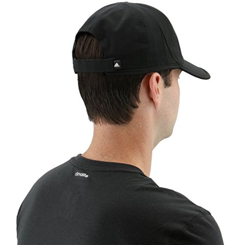 9b5c736d5cad0 adidas Men's Superlite Relaxed Adjustable Performance Cap, Black/White, One  Size