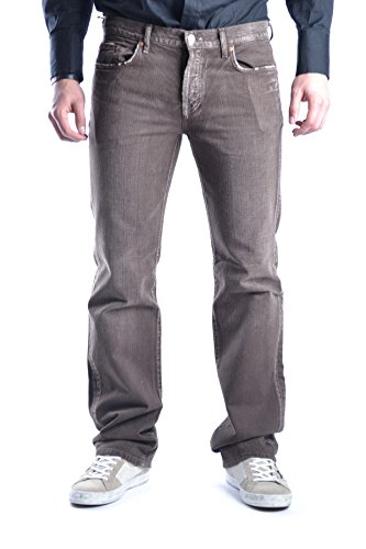 7 For All Mankind Homme MCBI004025O Marron Coton Jeans