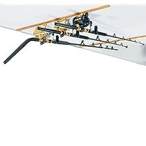 DU-BRO Fishing Trac and Teak Combo, 4-Feet, Gold