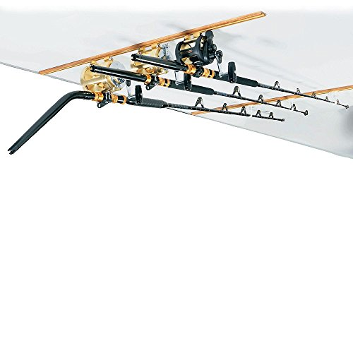 DU-BRO Fishing Trac and Teak Combo, 4-Feet, Gold