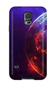 Forever Collectibles Awesome Star Wars Fiction Planet Hard Snap-on Galaxy S5 Case