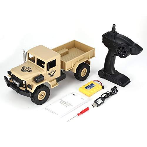 KNOSSOS JjRC Q62 1 16 2.4G 4Wd Lunga Durata della Batteria Fuoristrada Crawler Remote Control Car (Giallo)