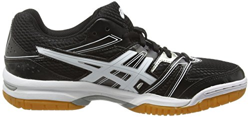 7 black rocket Chaussures De Asics Homme Blanc white Gel silver Volleyball 9001 8BZWfEOAn