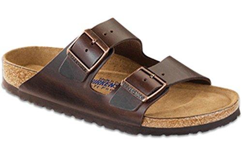 Birkenstock Unisex Arizona Brown Amalfi Leather Sandals - 41 M EU / 10-10.5 B(M) US by Birkenstock