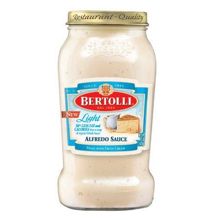 Bertolli Alfredo Sauce - Bertolli Light Alfredo Sauce 15oz