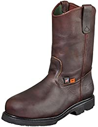 Mens Work Brown Leather Boot Wellington I-Met Safety Toe 14 3E